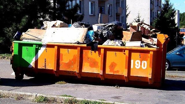 TEST: Svoz velkoobjemového odpadu