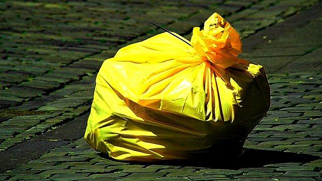 Svoz tříděného odpadu
